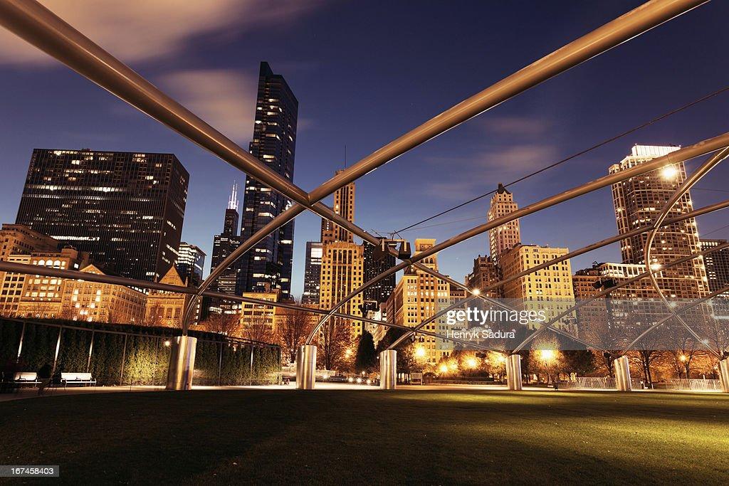 USA, Illinois, Chicago, cityscape : Stock Photo