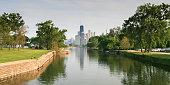 USA, Illinois, Chicago skyline