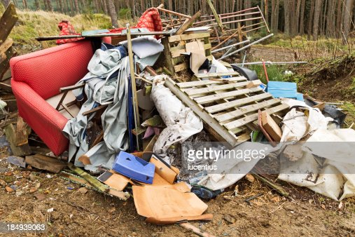 Illlegal fly tipping