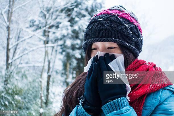 Enfermedad en invierno es muy popular