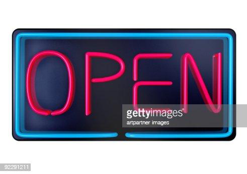 OPEN - Illuminated Advertising