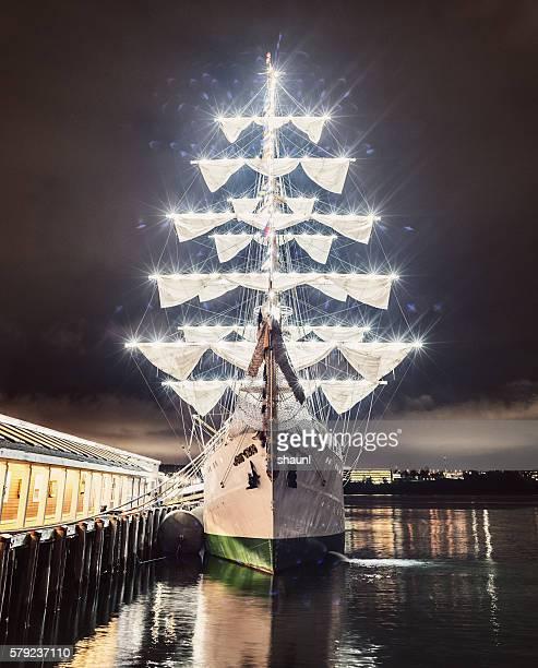 Illuminated Barque