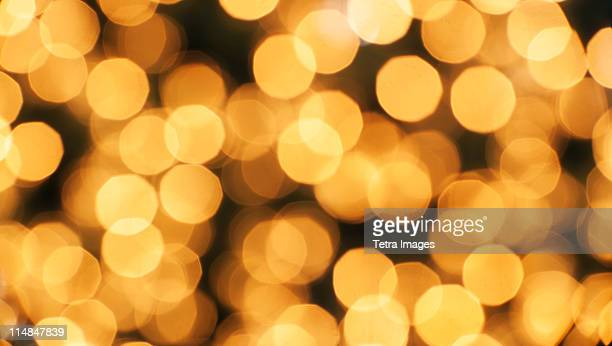 Illuminated Christmas tree lights