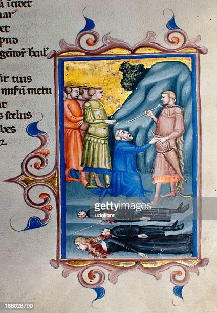 Illumination code-gros plan Virgile s Aeneid