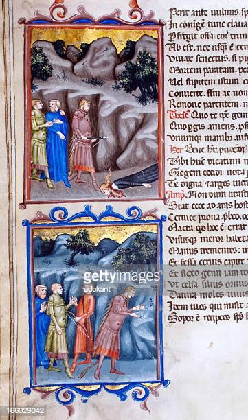 Illumination code Virgile s Aeneid gros plan