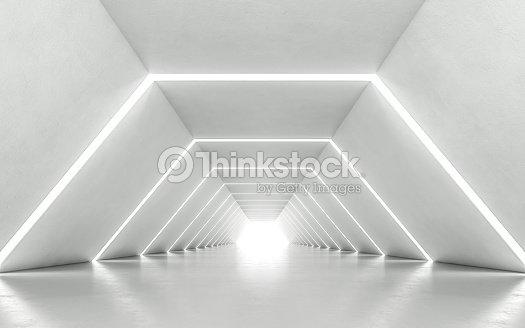 Corredor iluminado : Foto de stock
