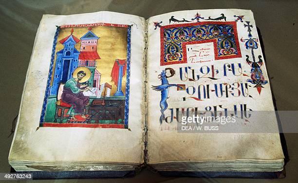 Illuminated Gospel Yerevan Armenia
