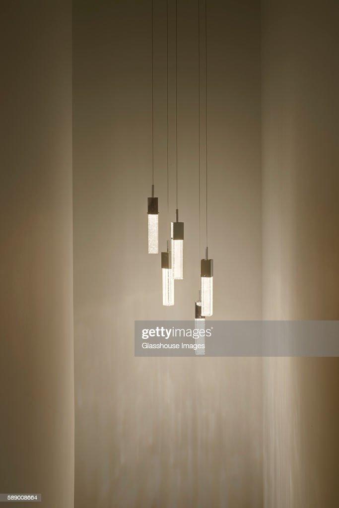 Illuminated Hanging Pendant Lights