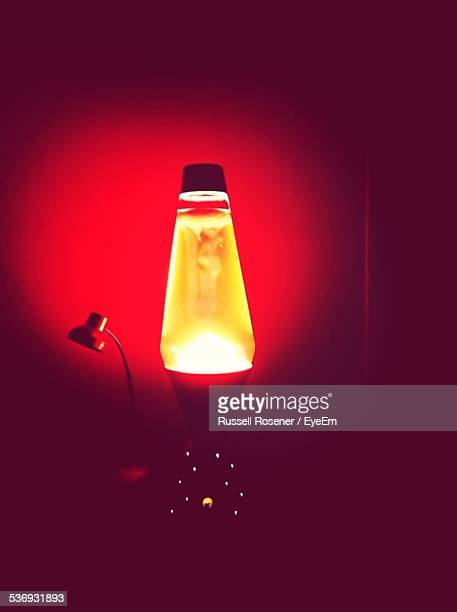 Illuminated Lava Lamp