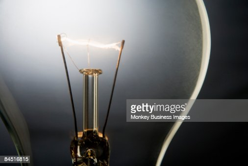 Illuminated Light Bulb : Stock Photo