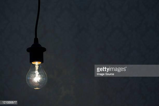 Illuminated lightbulb