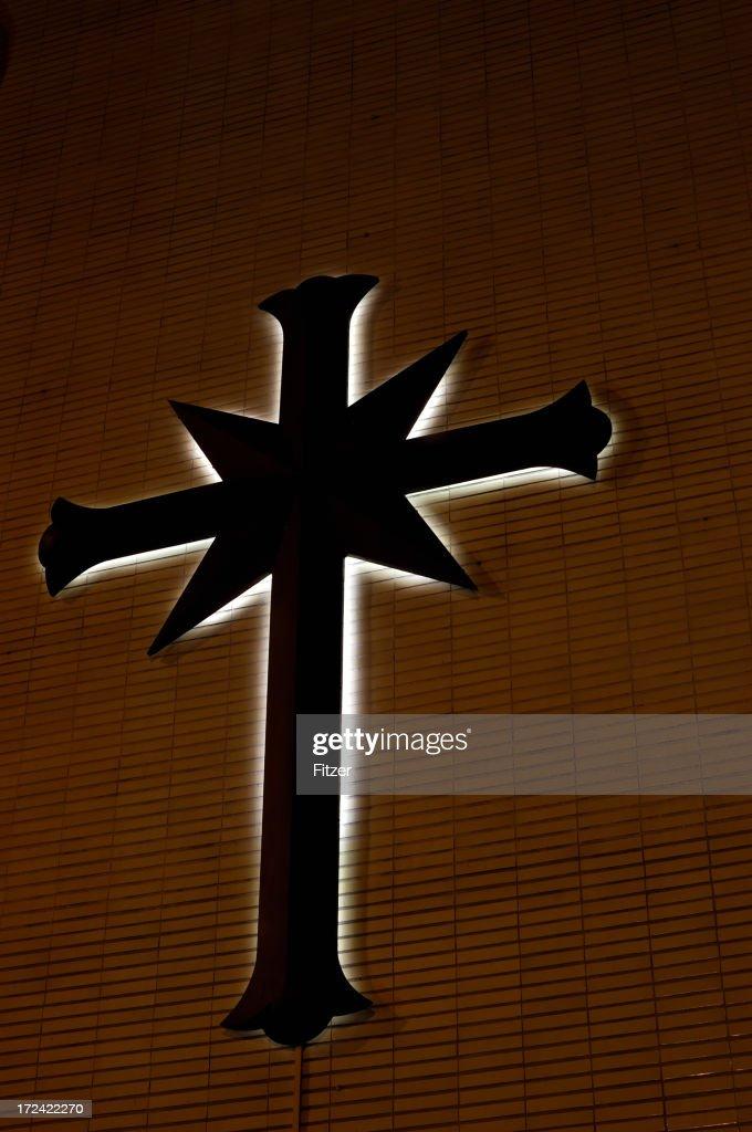 illuminated scientology cross