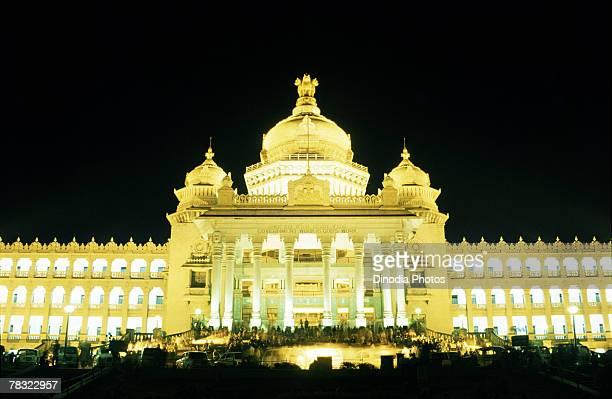 Illuminated Vidhana Soudha, Bangalore