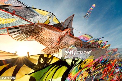 Illuminating sunbeam on kites for sale