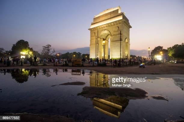 Illumination at India Gate, New Delhi