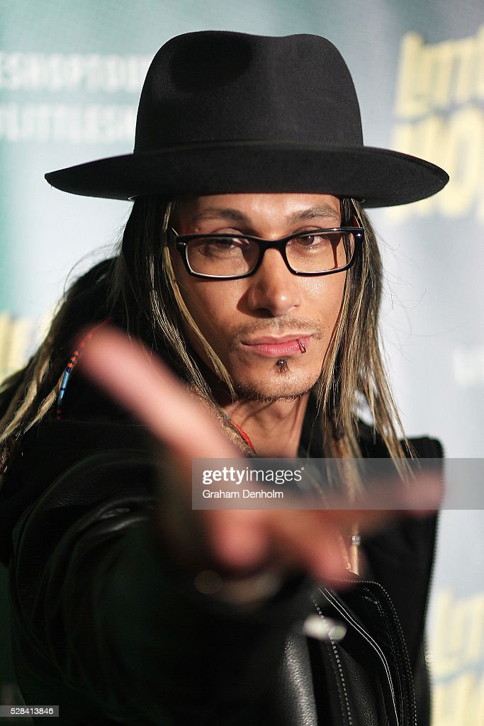 Illusionist and escapologist Cosentino arrives ahead of opening night for the Little Shop of Horrors at the Comedy Theatre on May 5, 2016 in Melbourne, Australia.