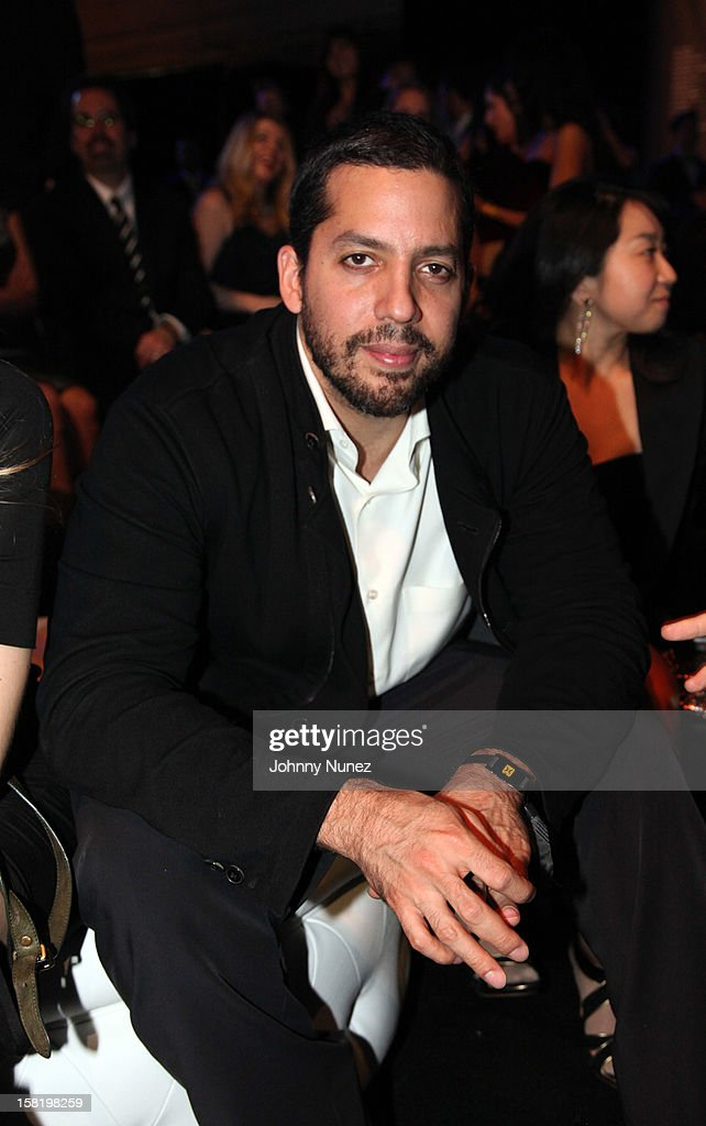 Illusionist David Blaine attends the 7th Annual Charity Ball at the 69th Regiment Armory on December 10, 2012 in New York City.