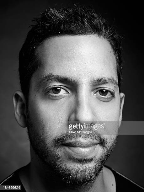 Illusionist David Blaine is photographed for Self Assignment on September 11 2013 in New York City