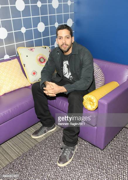 Illusionist David Blaine visits 106 Park at BET Studios on November 18 2013 in New York City