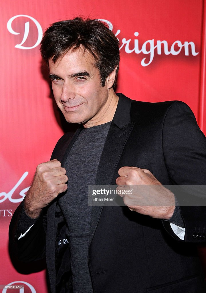 Illusionist David Copperfield arrives at the Keep Memory Alive foundation's 'Power of Love Gala' celebrating Muhammad Ali's 70th birthday at the MGM Grand Garden Arena February 18, 2012 in Las Vegas, Nevada. The event benefits the Cleveland Clinic Lou Ruvo Center for Brain Health and the Muhammad Ali Center.