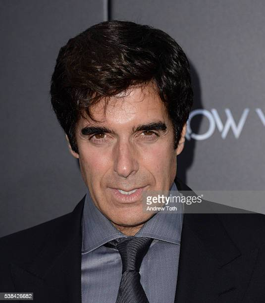 Illusionist David Copperfield attends the 'Now You See Me 2' World Premiere at AMC Loews Lincoln Square 13 theater on June 6 2016 in New York City