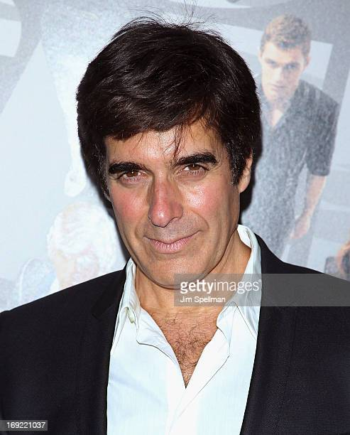 Illusionist David Copperfield attends the 'Now You See Me' premiere at AMC Lincoln Square Theater on May 21 2013 in New York City