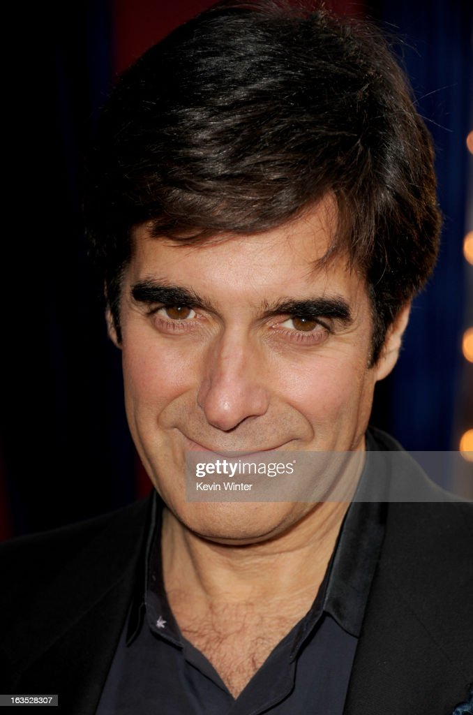 Illusionist David Copperfield attends the premiere of Warner Bros. Pictures' 'The Incredible Burt Wonderstone' at TCL Chinese Theatre on March 11, 2013 in Hollywood, California.