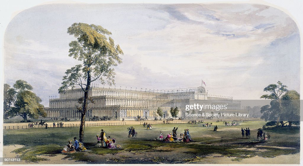 Illustrated plate taken from Dickinsons� 'Comprehensive Pictures of The Great Exhibition' published in 1854 The Crystal Palace was built to house the...