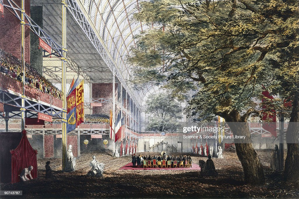 Illustrated plate taken from Dickinsons� �Comprehensive Pictures of The Great Exhibition' The 'Great Exhibition of the Works of the Industry of all...