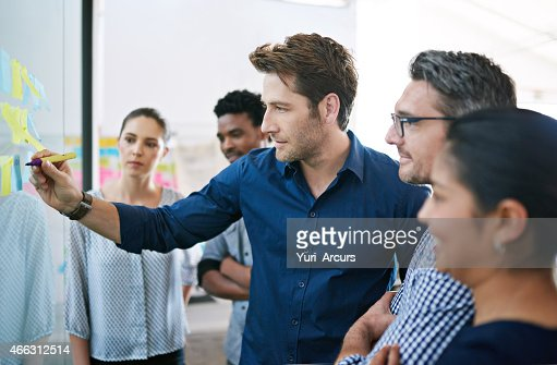 Illustrating his vision