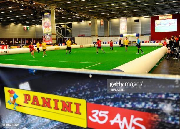 Illustration Le Match de tous les records 35 Heures de match pour les 35ans de Panini Paris