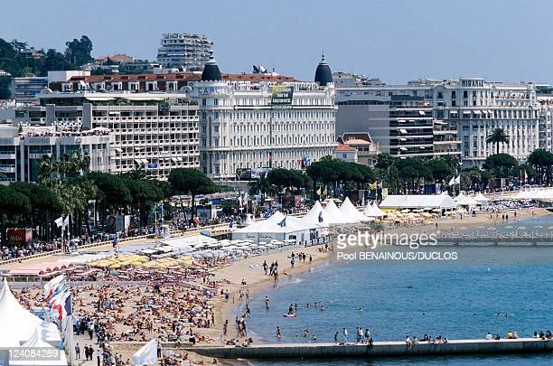 Illustration 51st Cannes Film Festival France In May 1998 The Croisette