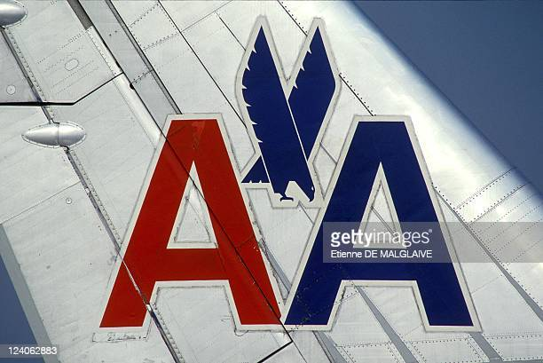 Illustration Airbus A300 American Airlines In New York United States On September 29 1993 American DC 10