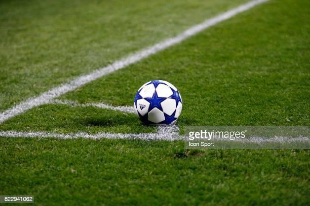 illustration Ballon Lyon / Benfica Champions League