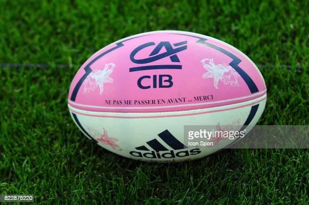 Illustration ballon adidas Stade Francais / La Rochelle 2eme journee de Top 14 Stade Charlety Paris