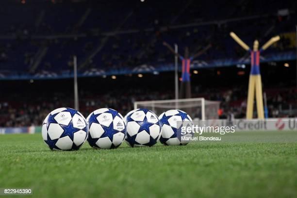Illustration ballon Adidas Barcelone / Kobenhavn Champions League 2010/2011