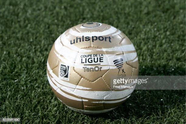 Illustration ballon officiel Uhlsport Coupe de la Ligue Nancy / Auxerre 1/16 de finale de la Coupe de la Ligue