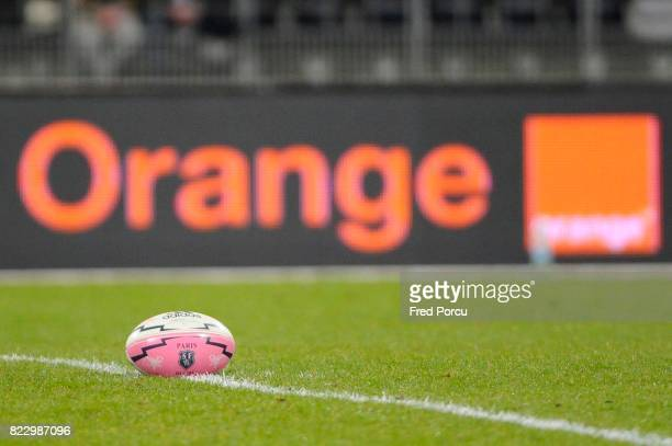 Illustration Ballon Stade Francais Stade Francais / Biarritz 18eme Journee de TOP 14