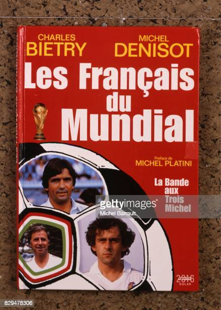 Illustration Book ' Les Francais du Mundial ' during the photoshoot on 4th March 1982