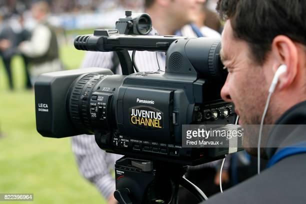 Illustration Camera Nancy / Juventus Turin Match Amical Stade Ravenne de Joeuf