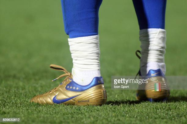 illustration chaussures italie Creteil / Reims 31 eme journee de Ligue 2