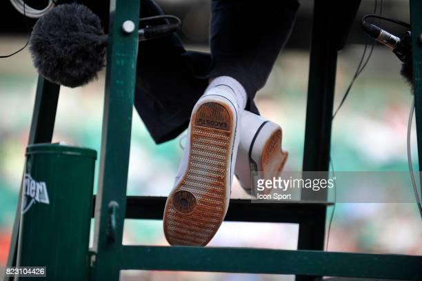 Illustration chaussures Lacoste Roland Garros 2011