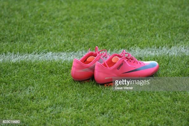 Illustration Chaussures Nike / Yoann GOUFFRAN Caen / Bordeaux Ligue 1 7e journee