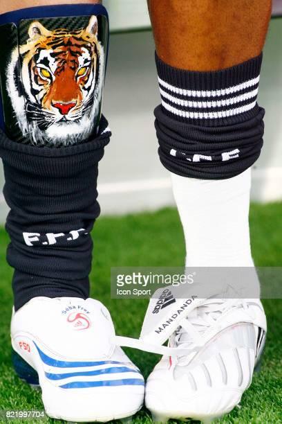 Illustration chaussures Sebastien FREY / Steve MANDANDA France / Roumanie Euro 2008 suisse et Autriche