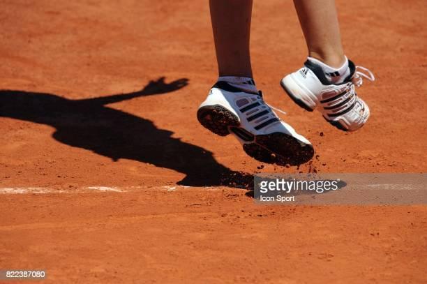 Illustration chaussures / Terre Battue Roland Garros 2009