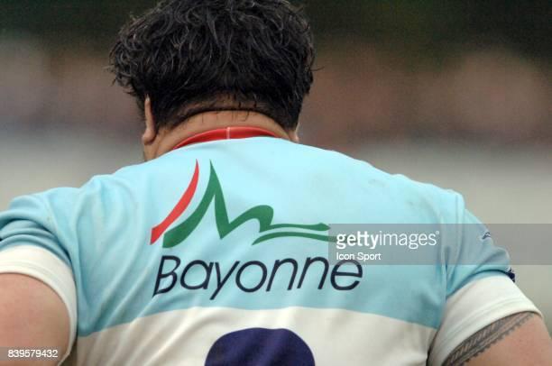 Illustration cou de 1ere ligne Bayonne / Stade Francais 24eme journee du Top 14