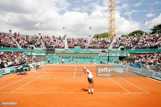 Illustration Court n1 Jour 1 Roland Garros 2008