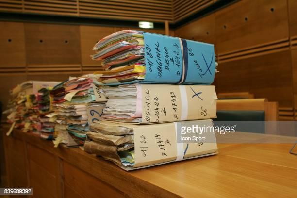 Illustration dossier Proces en appel des comptes de l OM entre 1997 et 1999 Aix