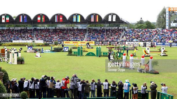Illustration during the Rolex Grand Prix part of the Rolex Grand Slam of Show Jumping of the World Equestrian Festival on July 23 2017 in Aachen...