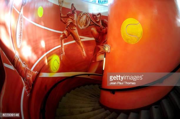 Illustration Escalier Roland Garros 2009